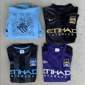 Manchester City (FTW) bundle retro Aguero, Kolorov